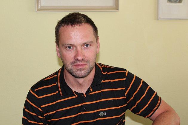 Ředitel Základní školy Velešín Luděk Kopřiva.