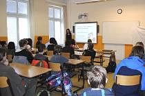 Prezentace prací SOČ v kaplickém gymnáziu