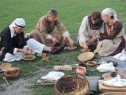 Hlavním tématem Krumbenowe Český Krumlov byla středověká hostina.