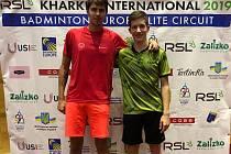 Jaromír Janáček a Tomáš Švejda si z ukrajinského turnaje přivážejí výborné páté místo a cenných 2200 bodů do světového žebříčku.