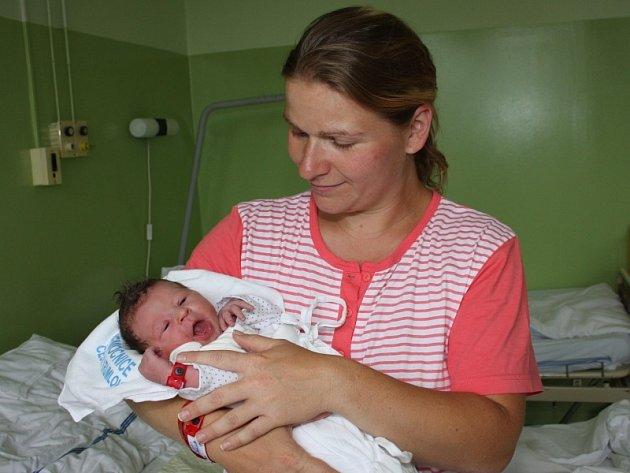 Klára Mikešová, 26. června 2008, 3250 g, 48 cm, Kájov.