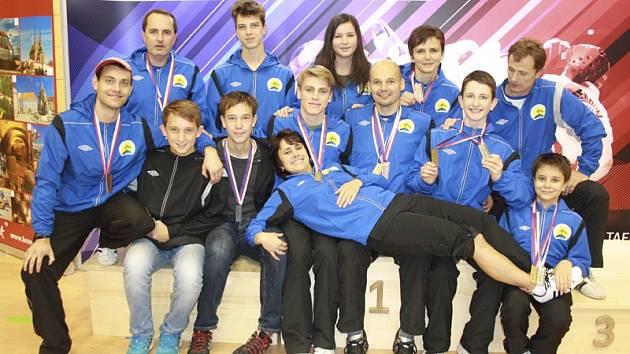 Výprava Taekwon-do školy ITF Velešín na letošním MČR v Brně rozhodně měla důvod  k radosti.