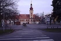 Kaplické náměstí.