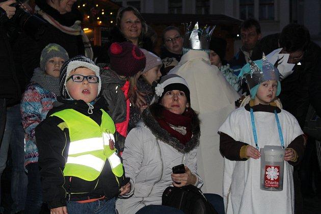 Tříkrálový happening je tradičním zakončením adventního svátečního období v Českém Krumlově.