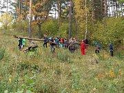 Velkou brigádu si udělali českobudějovičtí skauti ve Vyšenských kopcích u Českého Krumlova.