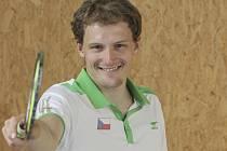 Pavel Florián v reprezentačním dresu.