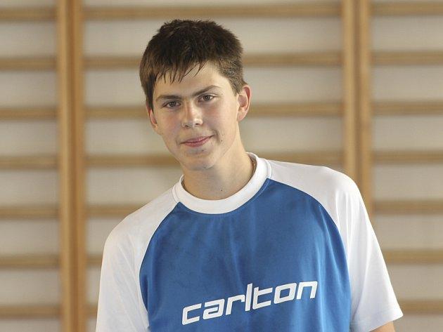 Cenné zkušenosti sbíral při svém třetím startu na mezinárodním turnaji dospělých mladičký Jaromír Janáček.
