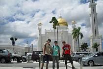 Cestovatelé z Českokrumlovska v Bruneji.