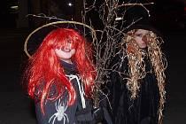 Kaplický dům dětí a mládeže uspořádal tradiční halloweenský pochod.