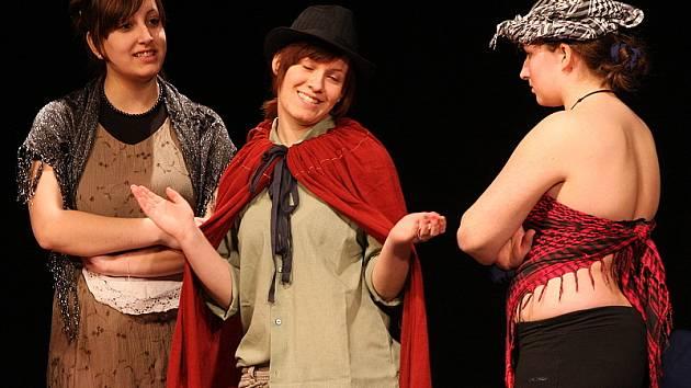 Mladá scéna 2009 v Českém Krumlově / Princové jsou na draka (Žádný hwjezdy, Veselí nad Lužnicí).