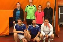 Krumlovské béčko při kvalifikačním turnaji o 1. ligu v Praze.