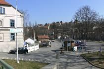 Českokrumlovské parkoviště P3.