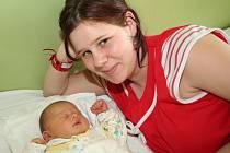 Natálie Becková, 25. února 2008, 3800 g, 50 cm, Český Krumlov.