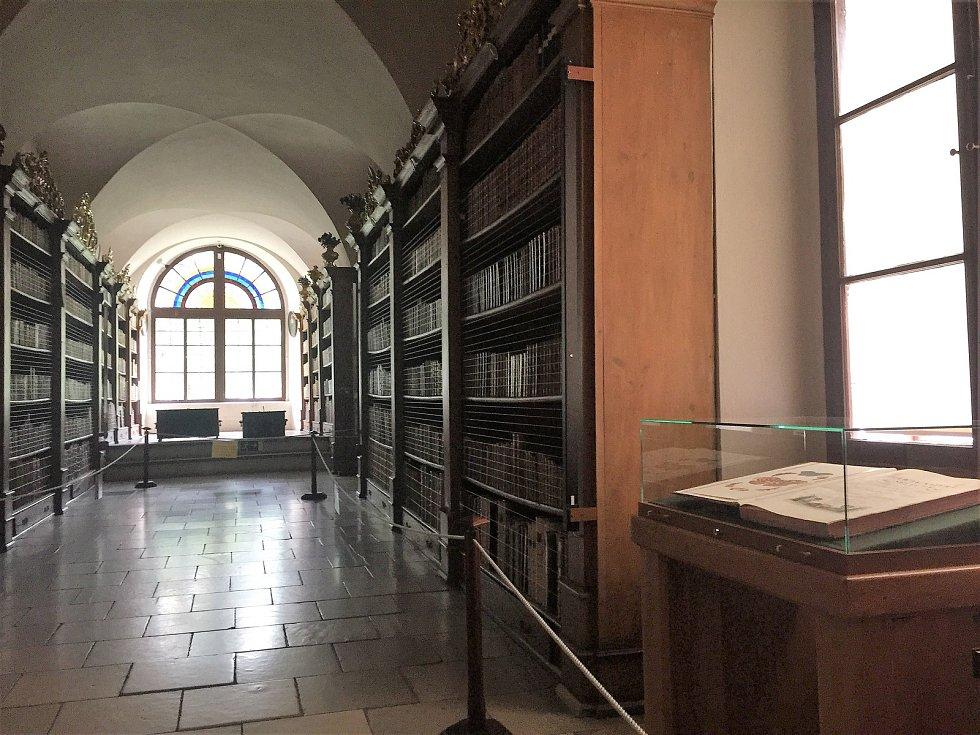 Krásu barokního světa v knižní grafice uvidíte v klášteru ve Vyšším Brodě.