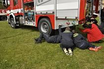 Hasiči v Černé v Pošumaví mají novou automobilovou stříkačku s cisternou.
