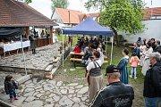 První lazebnický den v Rožmberské lazebně na Kantůrkovci.
