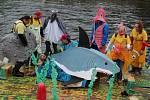 Další roční kuriózních plavidel ve Vyšším Brodě už je v přípravě.