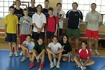 Mladí badmintonisté SKB Český Krumlov absolvovali letní soustředění v Kájově.