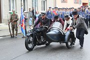 Sobotní hlavní průvod Kaplických slavností připomněl letošní sté výročí vzniku republiky.