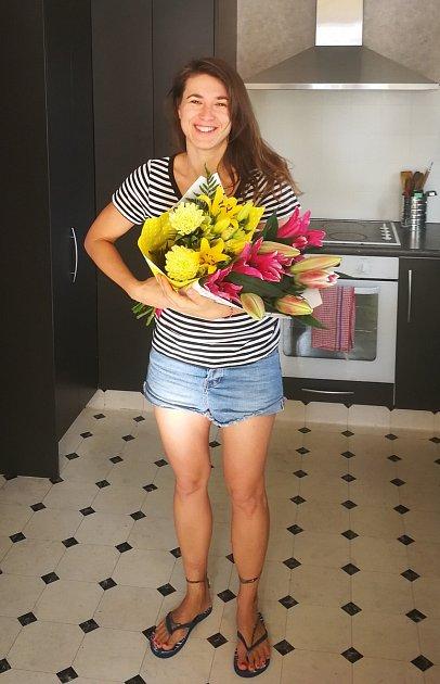 1. Alena Voglová při oslavě svých 36.narozenin.