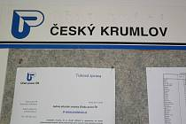 Na Úřadě práce v Českém Krumlově.