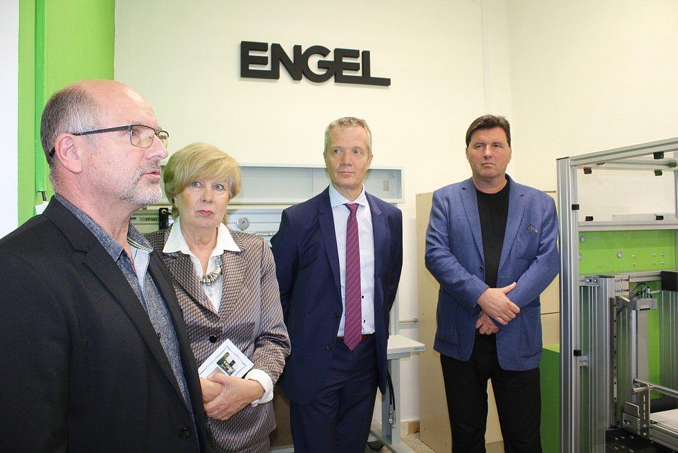 Strojírenská společnost Engel v Kaplici. Ilustrační foto.