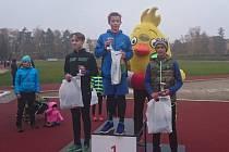 Znovu zlato. Jakub Janda vyhrál běh kolem Sokolského ostrova stylem start-cíl.
