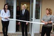 Den otevřených dveří v nově zrekonstruovaném domě s pečovatelskou službou ve Velešíně.