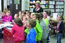 AKCE CESTA do knihovny běží již devátým rokem a předchází slavnostnímu pasování na čtenáře.