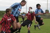 Okresní soutěž muži - 1. kolo: Křemže B - Benešov 0:3 (0:0).