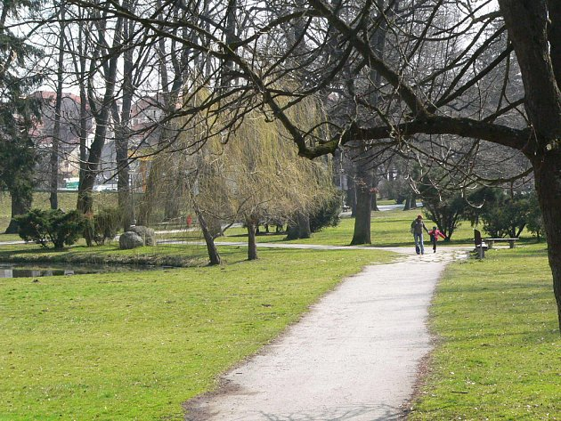 Městský park v Kaplici čeká omlazovací kúra.