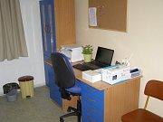 Lékařská ordinace v Malontech.