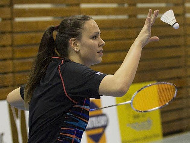 Vítězný pátý bodík pro krumlovské barvy vybojovala ve dvouhře Sabina Milová.