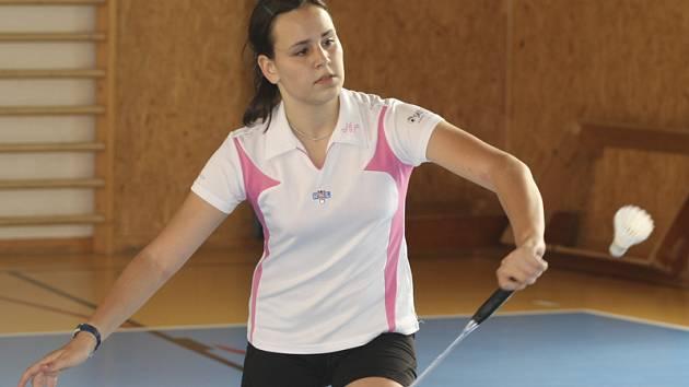 Krumlovská naděje Sabina Milová ještě v minulé sezoně patřila do žákovské kategorie, ale už se výrazně prosazuje i mezi juniory.