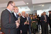 Novoroční setkání hospodářské komory s podnikateli a starosty obcí a měst v Kaplici.
