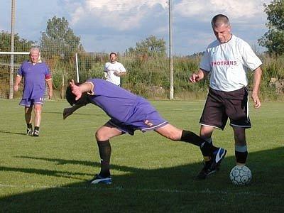 Fotbaloví rozhodčí si to rozdali v Křemži.