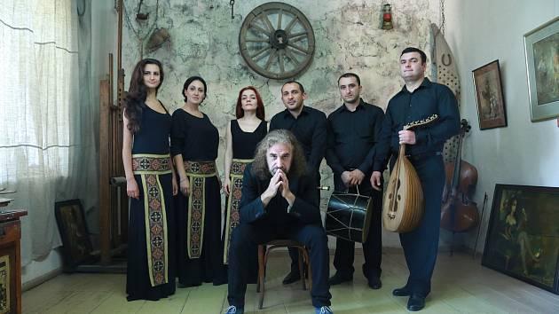 Arménský přední soubor The Naghash Ensemble of Armenia vystoupí s filharmoniky.