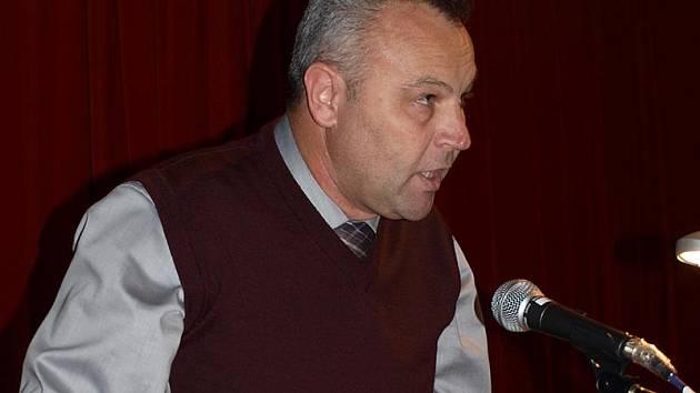 Starosta Kaplice Pavel Talíř (KDU-ČSL).