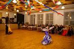 Ples velešínských hasičů v sále U Zlaté podkovy.