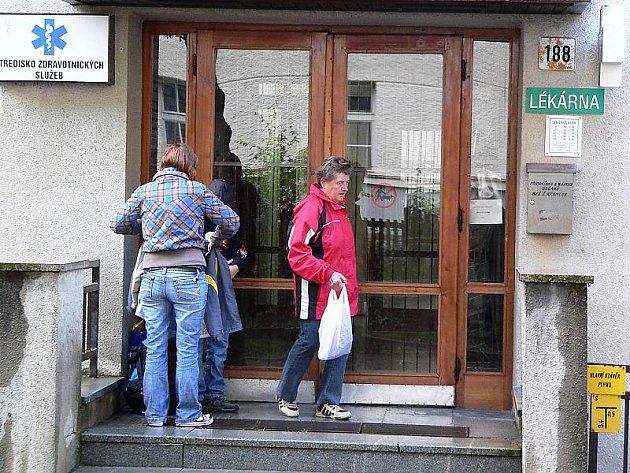 Středisko zdravotnických služeb se v Českém Krumlově nachází v ulici T. G. Masaryka nedaleko   stejnojmenné školy. V budově sídlí řada lékařů, lékárna i jiné služby, jako třeba masáže.