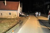 Nedělní nehoda v katastru Benešova nad Černou.