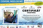 Certifikát Marie Bubeníkové.