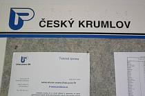 Na českokrumlovském úřadu práce.