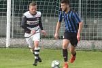 V 7. kole krajské I. A třídy remizovali velešínští fotbalisté s Kaplicí 2:2.