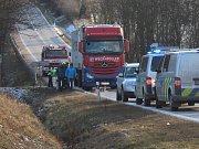Mezi obcemi Bezdědovice a Paštiky zemřel spolujezdec.