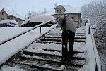 Sníh zasypal jih Čech