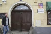 Katastrální úřad v Kaplici.
