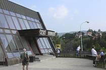Českokrumlovské autobusové nádraží.