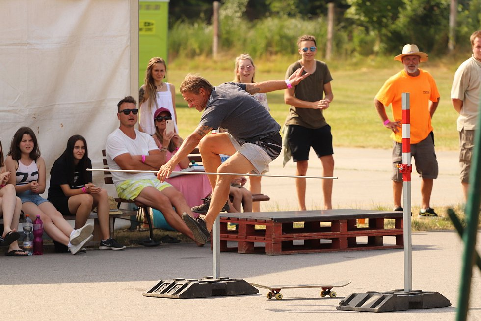 Do Kaplice dorazila i skateboardová legenda - Petr Karlíček