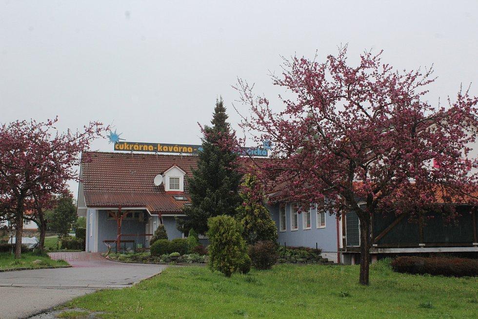 Obec Kájov.